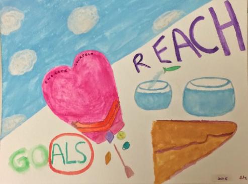 Artwork courtesy Dorlee Michaeli's (www.socialwork.career) 2015 Three Words